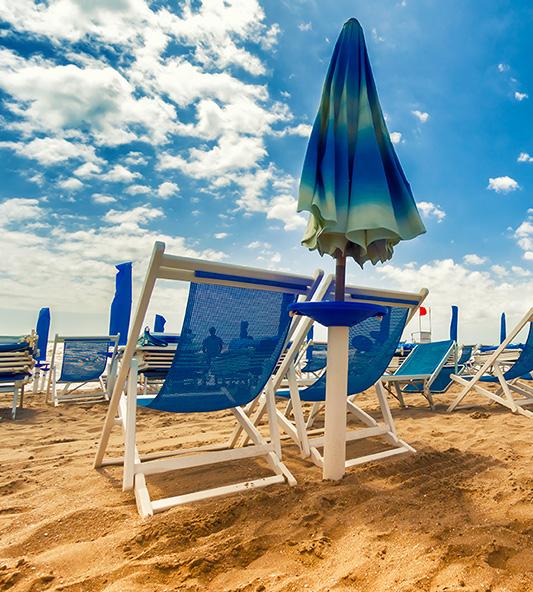 Estude italiano à beira-mar, em Viareggio