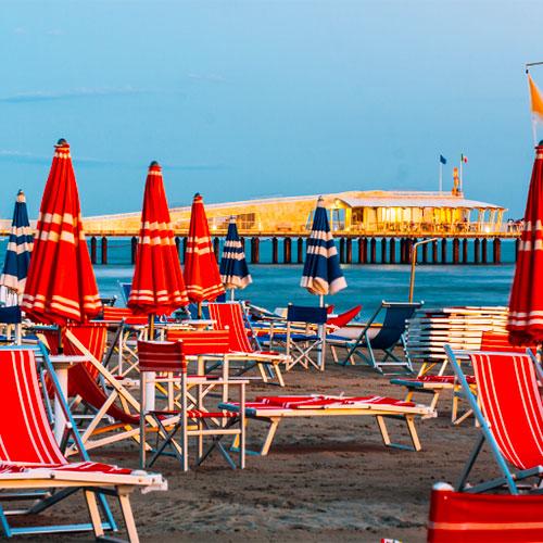 Estudiar italiano a la playa