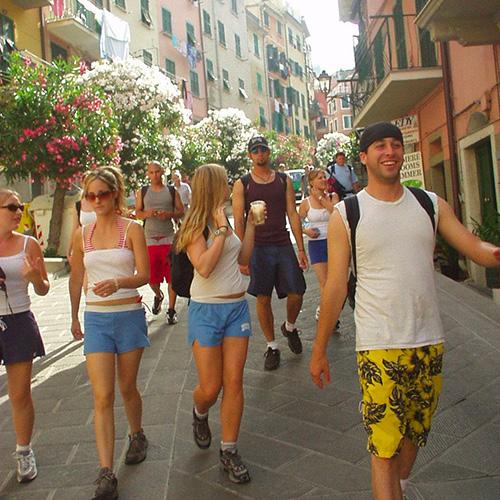 Vacaciones de idioma en Italia