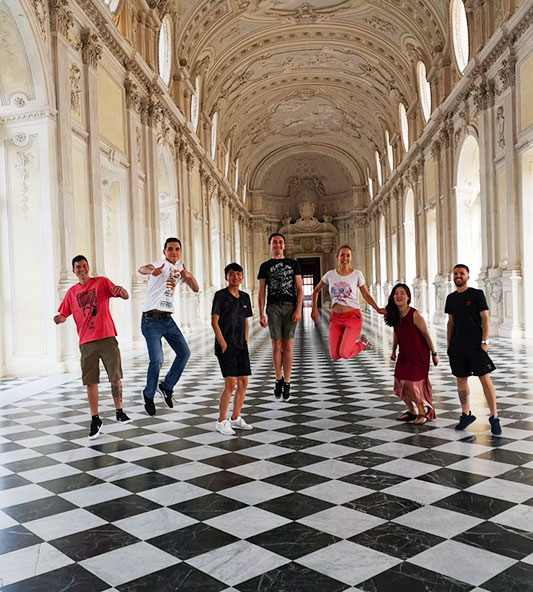 Activités organisées par l'école de Turin