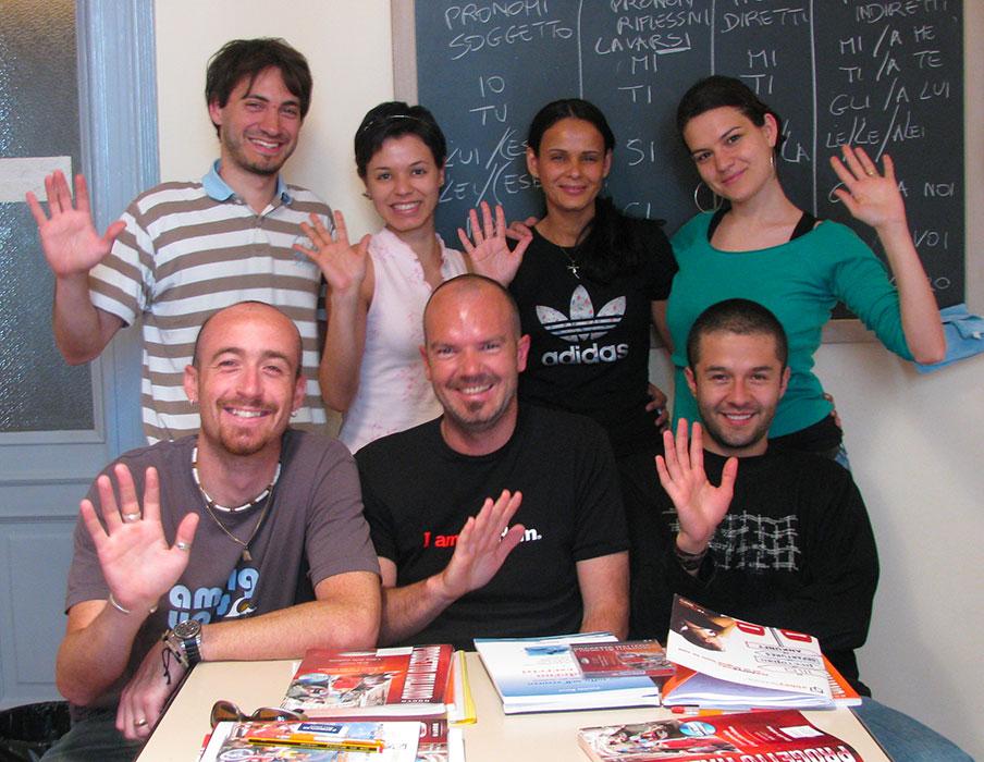 Nossos cursos de italiano em Turim