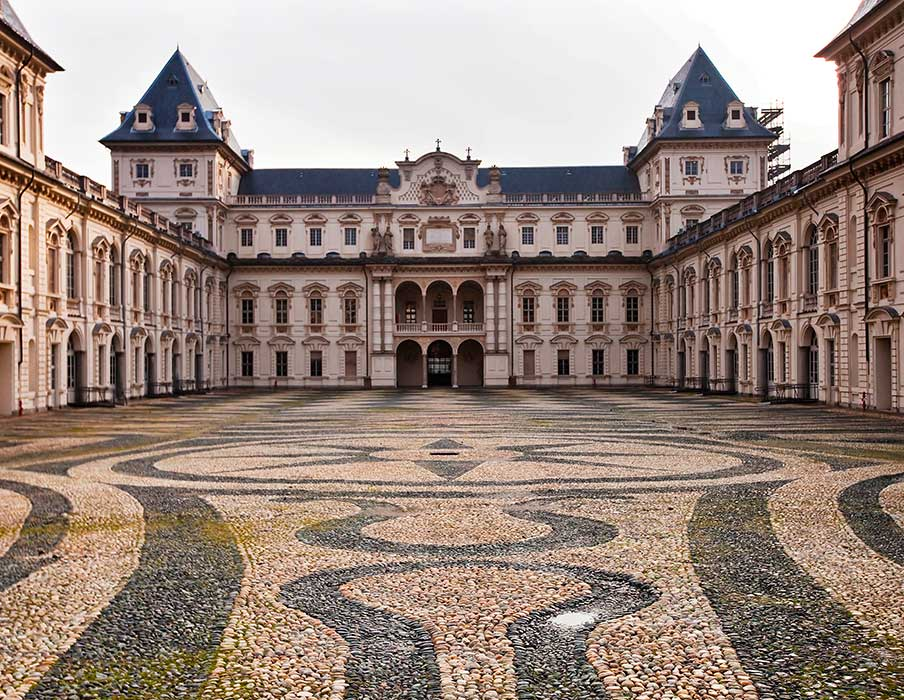 History of Art in Turin - Castello del Valentino