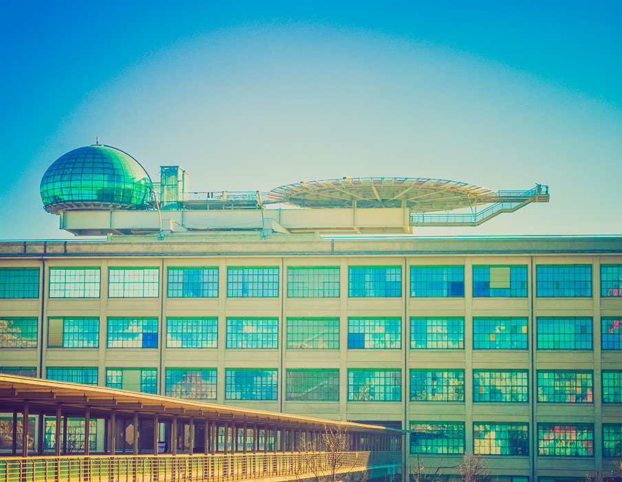 History of Art in Turin - Lingotto