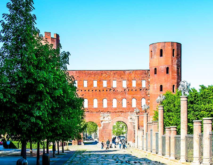 History of Art in Turin - Porta Palatina