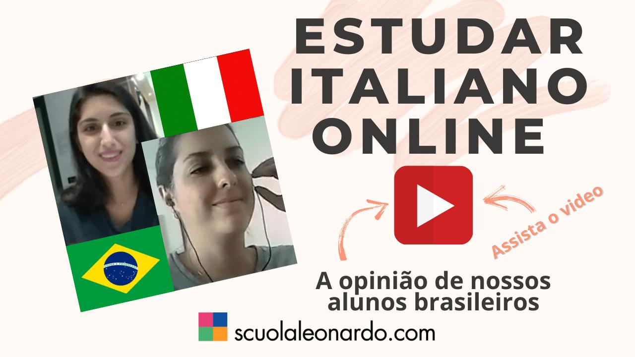 GUARDA I VIDEO SUI NOSTRI CORSI DI ITALIANO ONLINE!