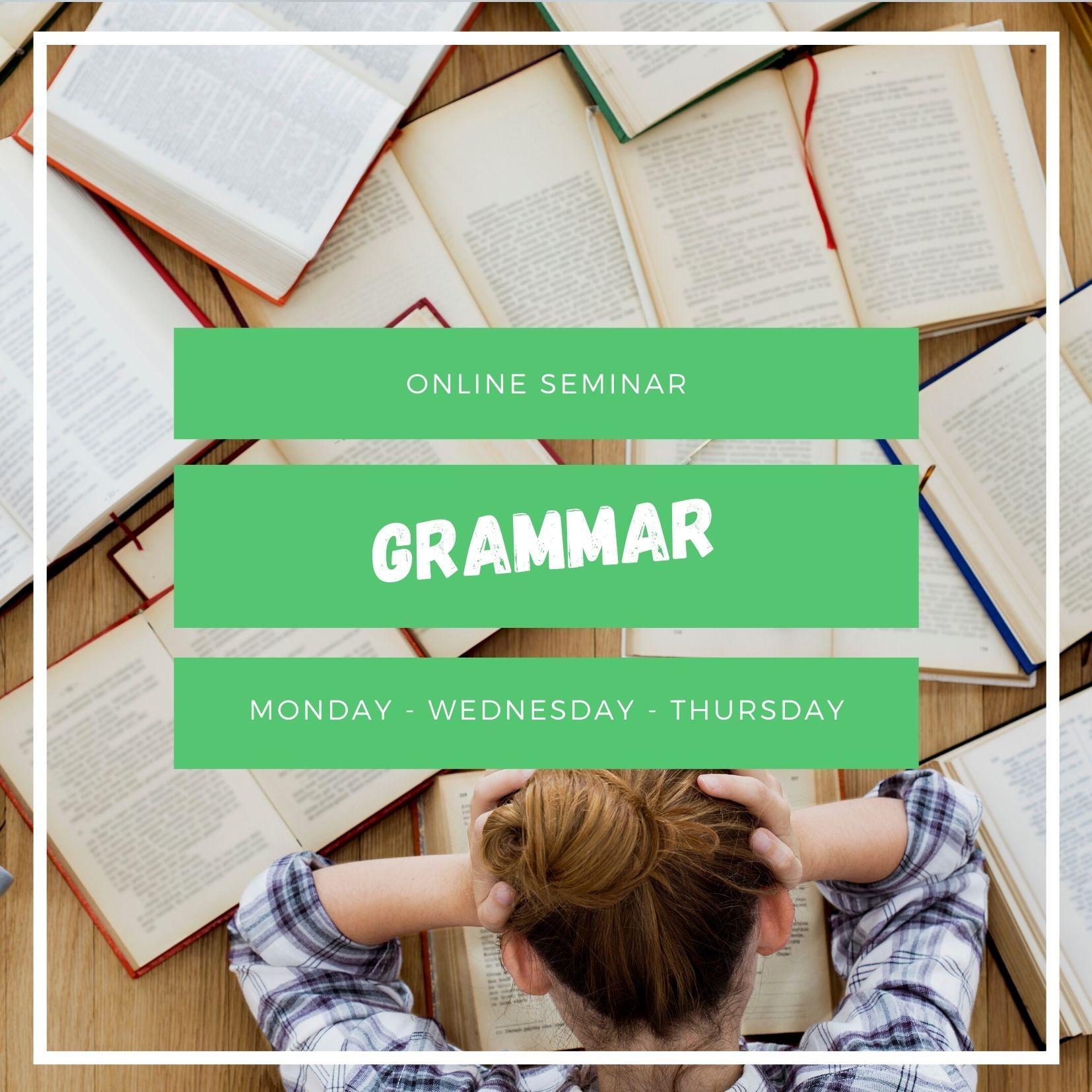 Corso online di grammatica italiana