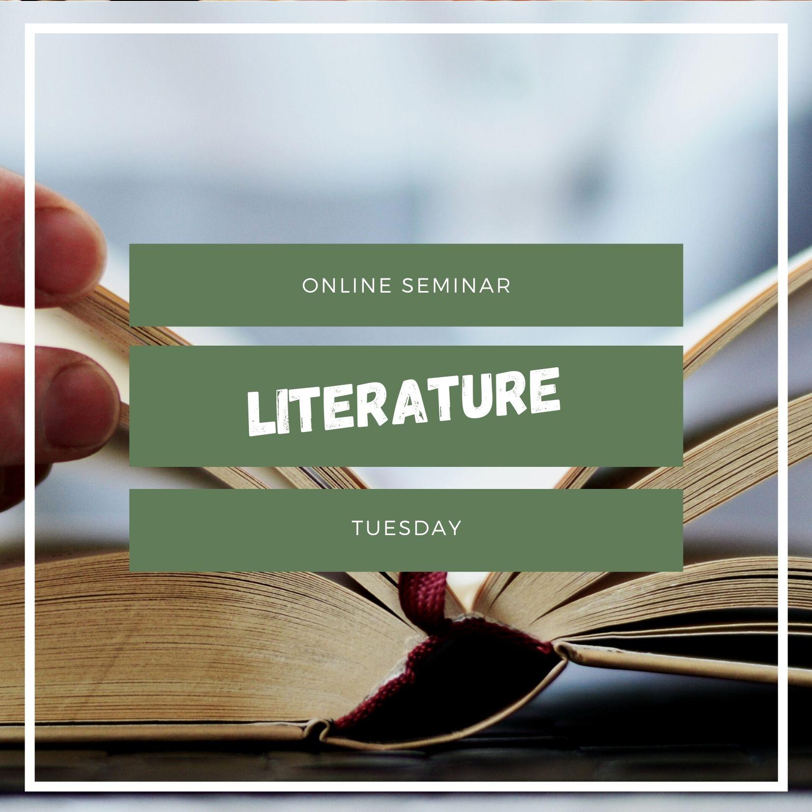 Seminario online sulla letteratura italiana