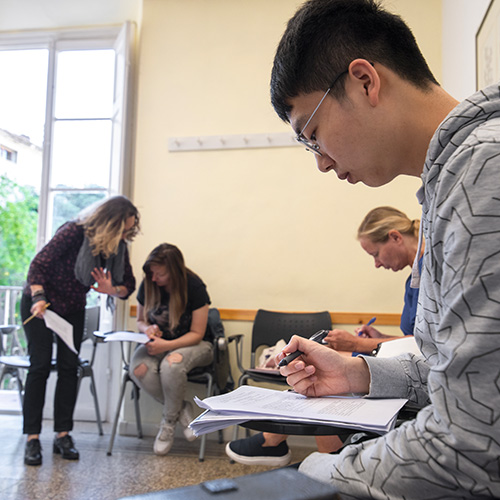 Preparation course for studying at university in Italy