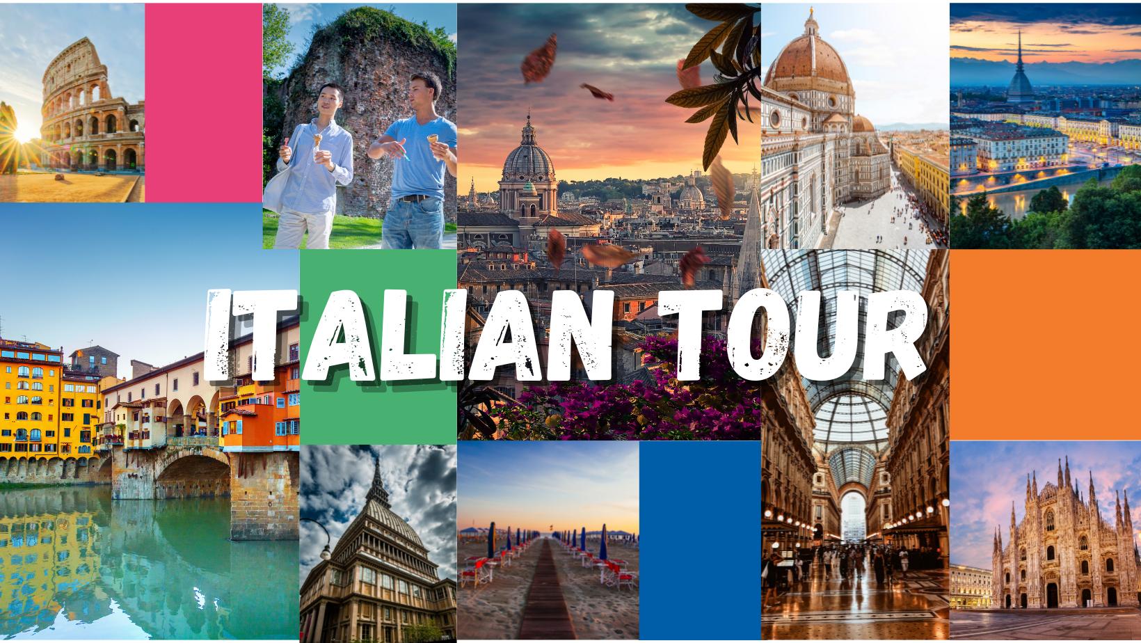 Learn Italian and travel around Italy
