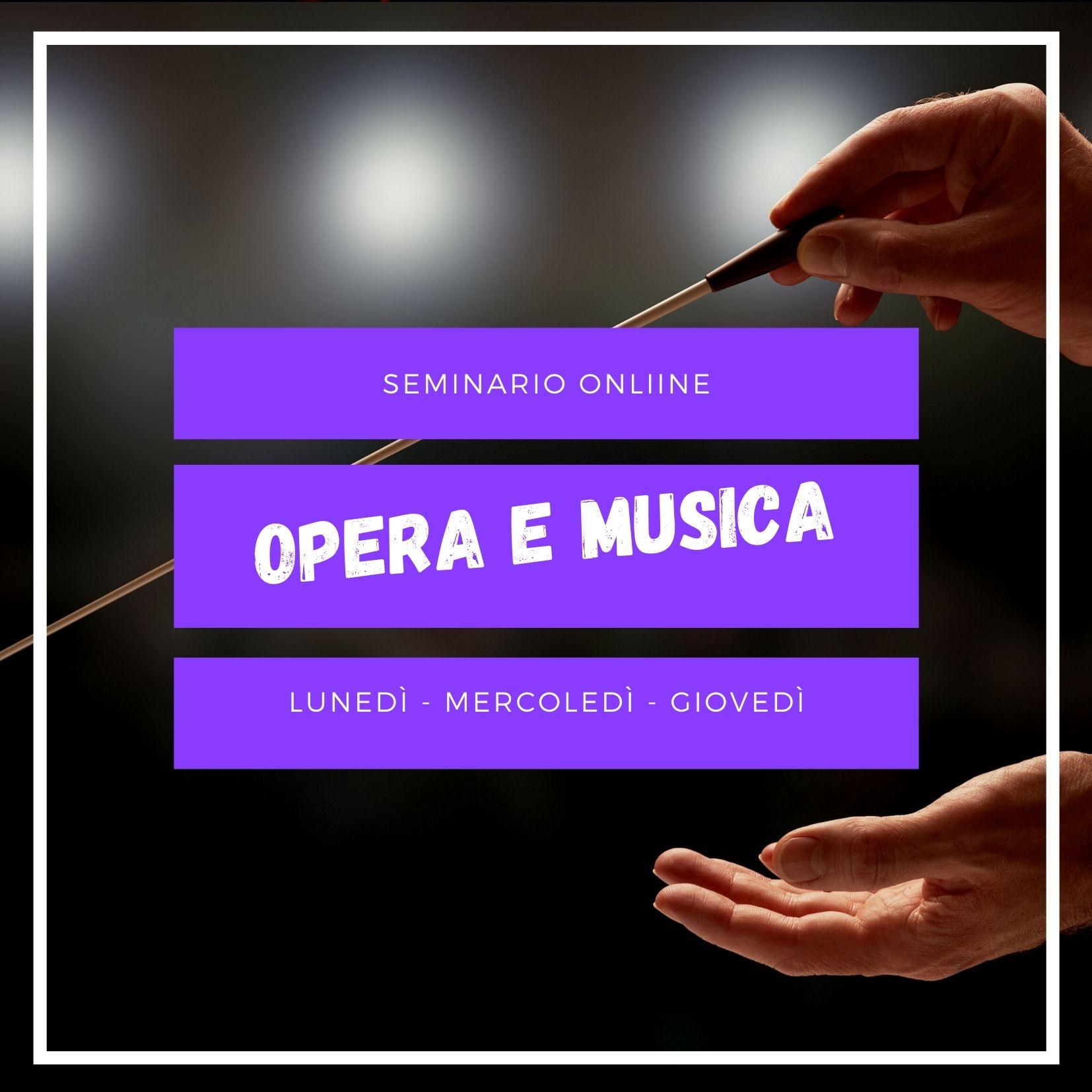 Corso online di opera e musica italiana
