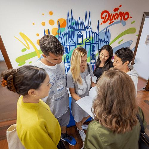 Italian language course in Milan
