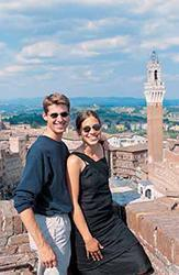 City tour and learn Italian in Siena