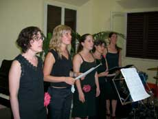 Courses for singers in Italy