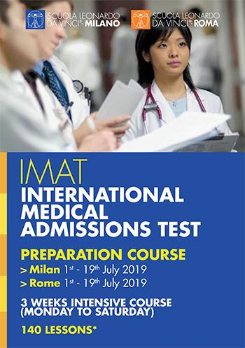 imat international medical admissions test italy