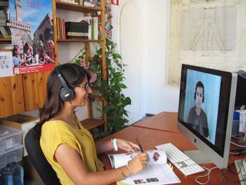 Italian language tuition on Skype