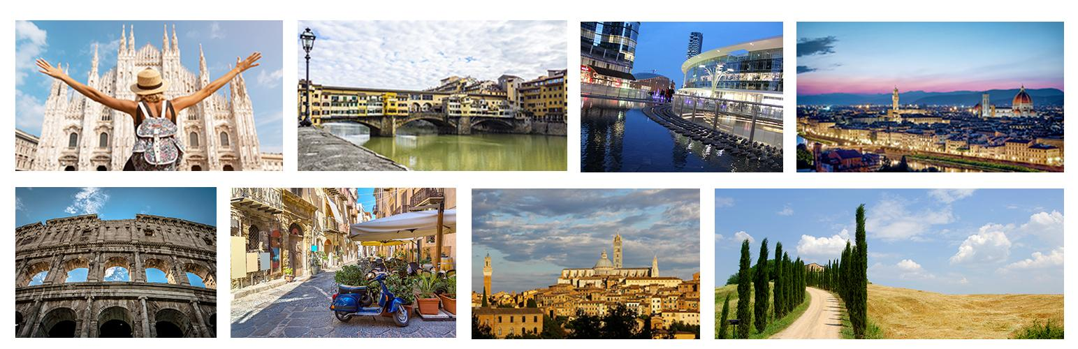 Italian Tour: travel thourgh Italy and learn Italian