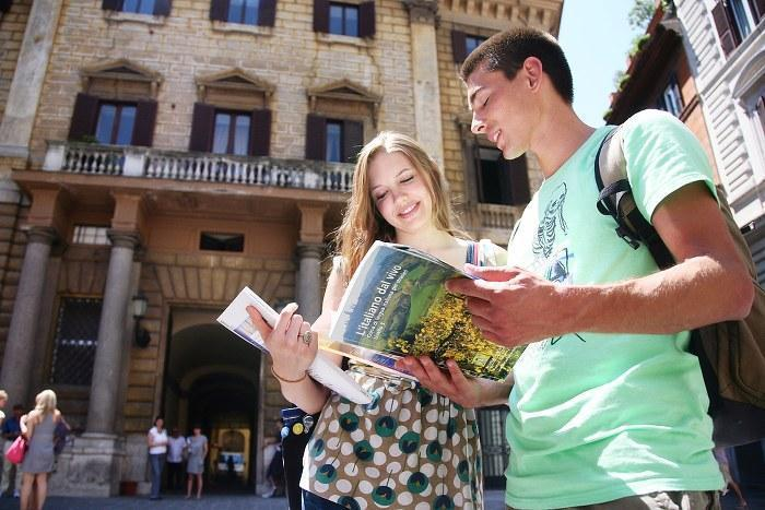 Study Italian language in Rome