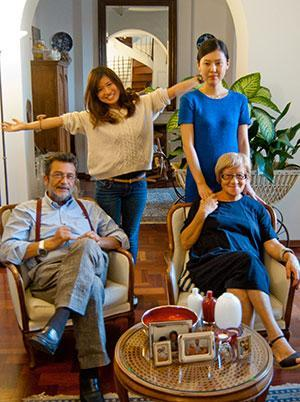 Host family in Milan